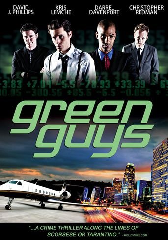 Green Guys Poster