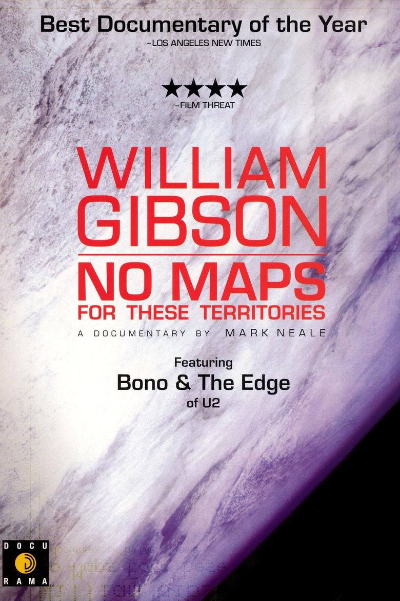 William Gibson: No Maps for These Territories Poster