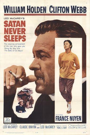 Satan Never Sleeps Poster