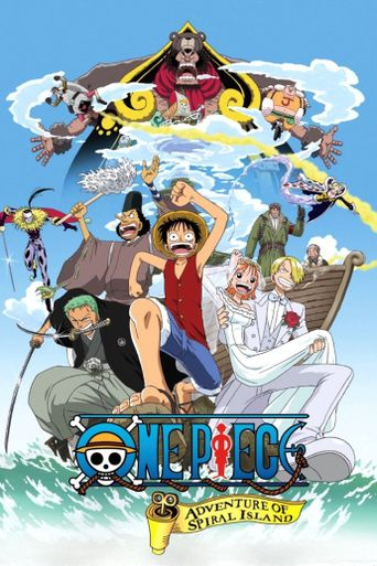 One Piece: Clockwork Island Adventure Poster