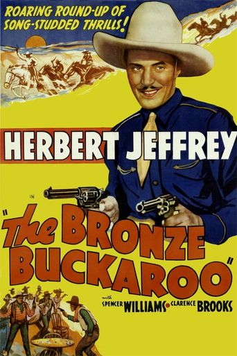 The Bronze Buckaroo Poster