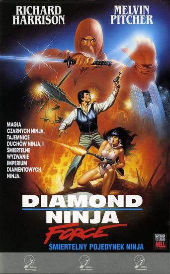 Diamond Ninja Force Poster