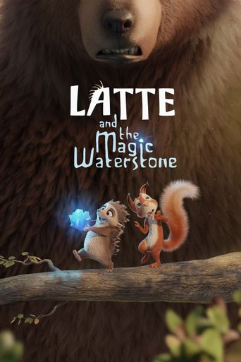 Latte and the Magic Waterstone Poster