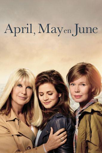 April, May en June Poster