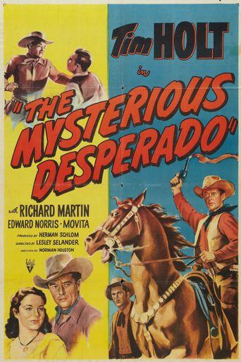 The Mysterious Desperado Poster