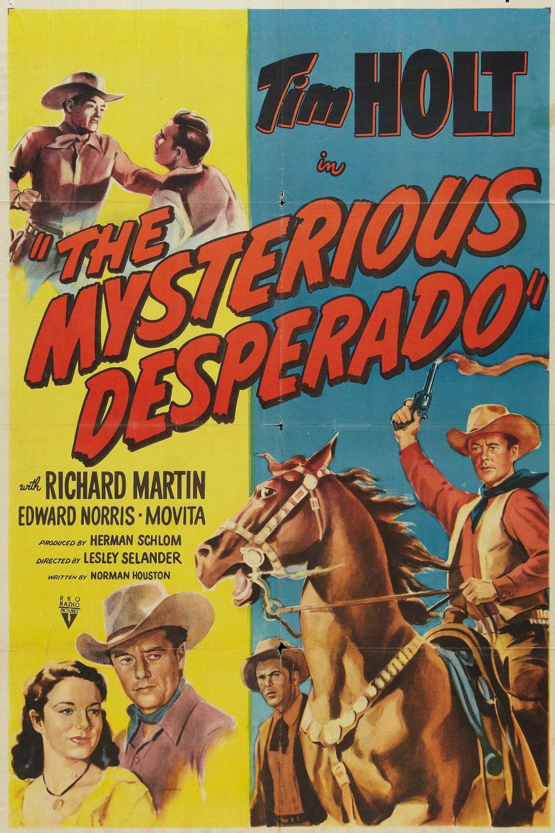 The Mysterious Desperado Poster