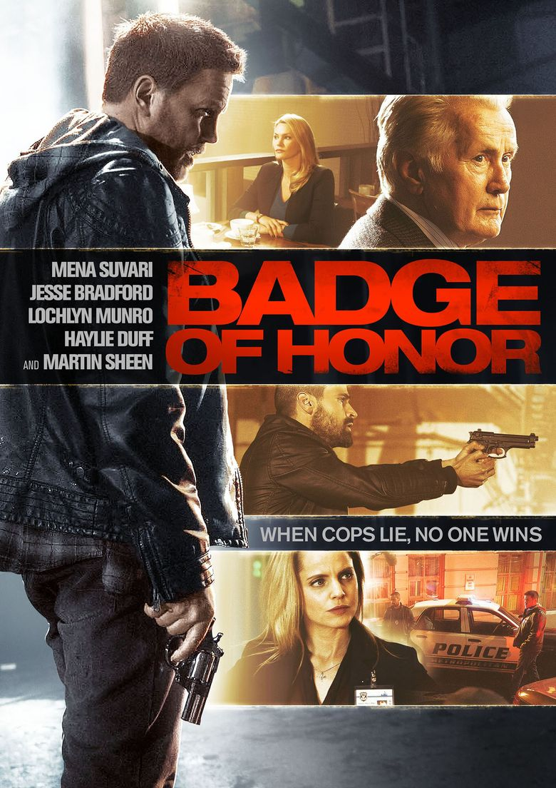 Badge of Honor Poster