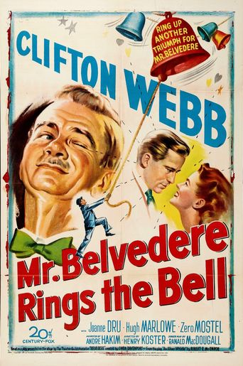 Mr. Belvedere Rings the Bell Poster