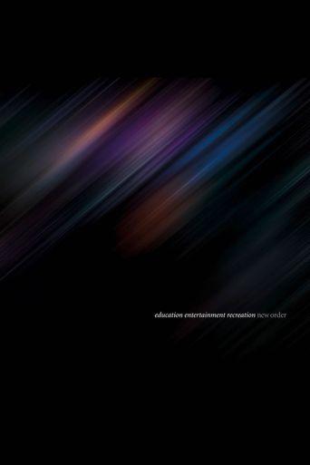 New Order: Live at Alexandra Palace Poster