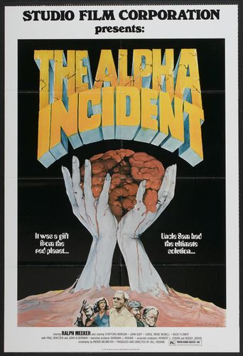 The Alpha Incident Poster