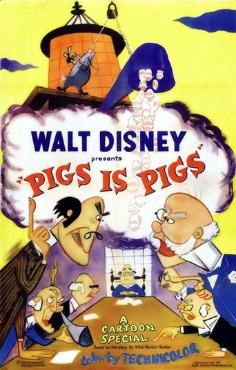 Pigs Is Pigs Poster