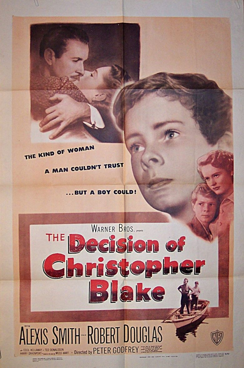 The Decision of Christopher Blake Poster