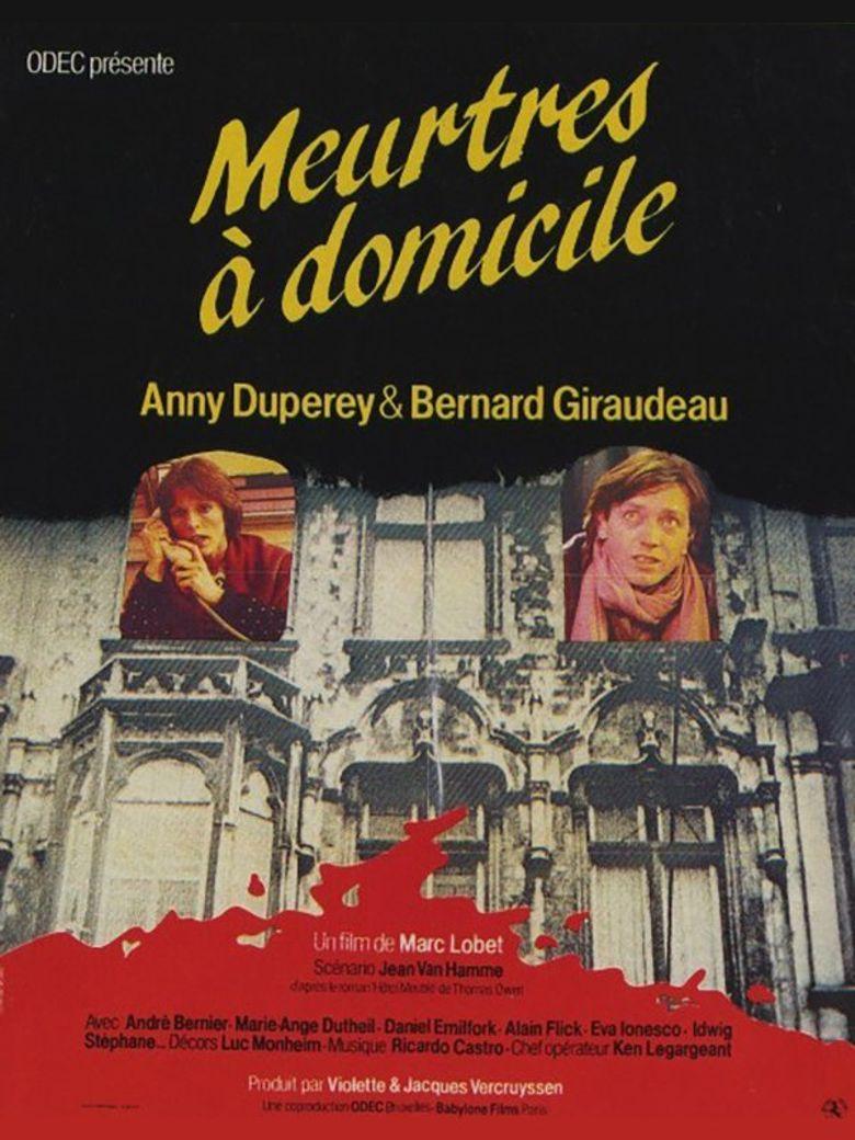 Meurtres A Domicile Poster