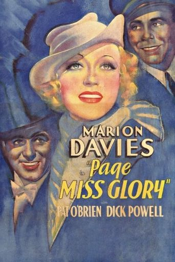 Page Miss Glory Poster