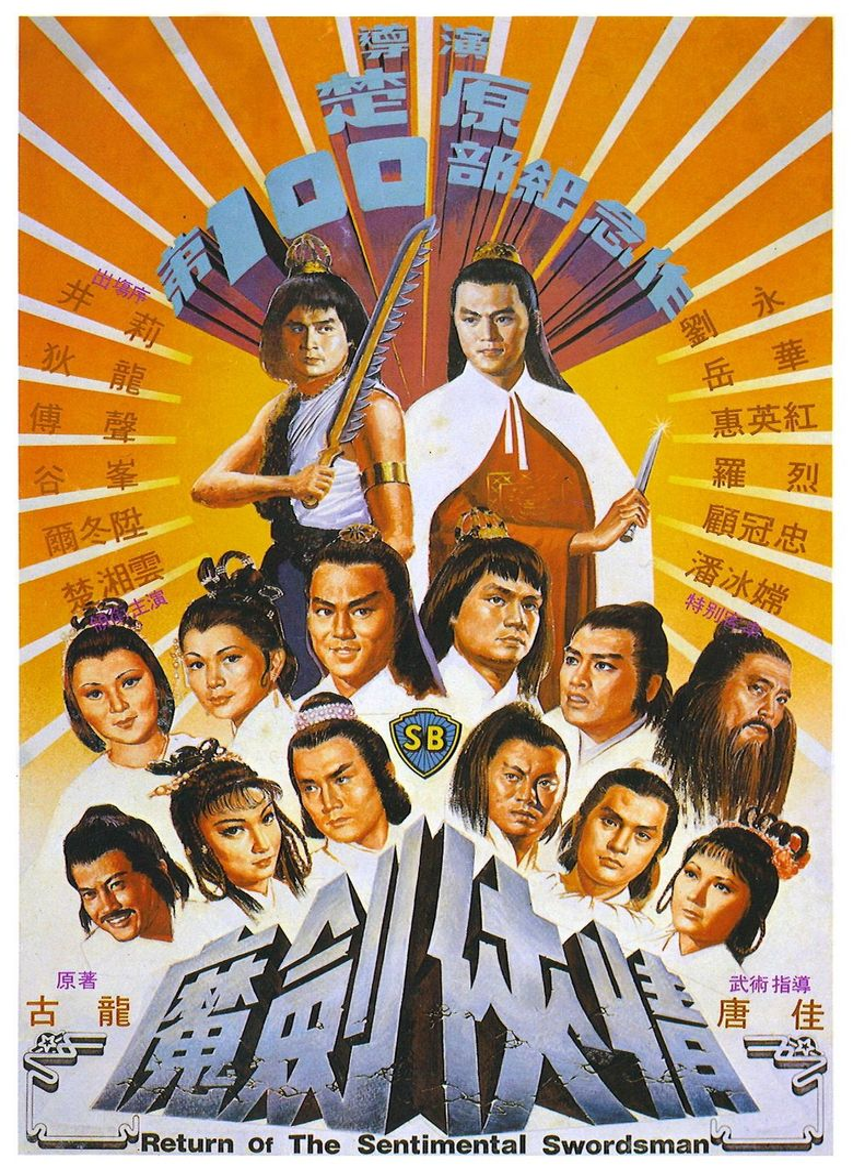 Return of the Sentimental Swordsman Poster