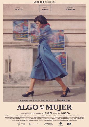 Algo con una mujer Poster
