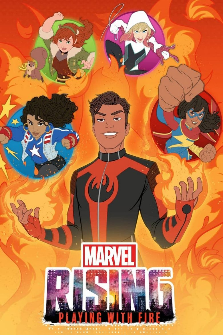 Marvel Rising: Playing with Fire Poster