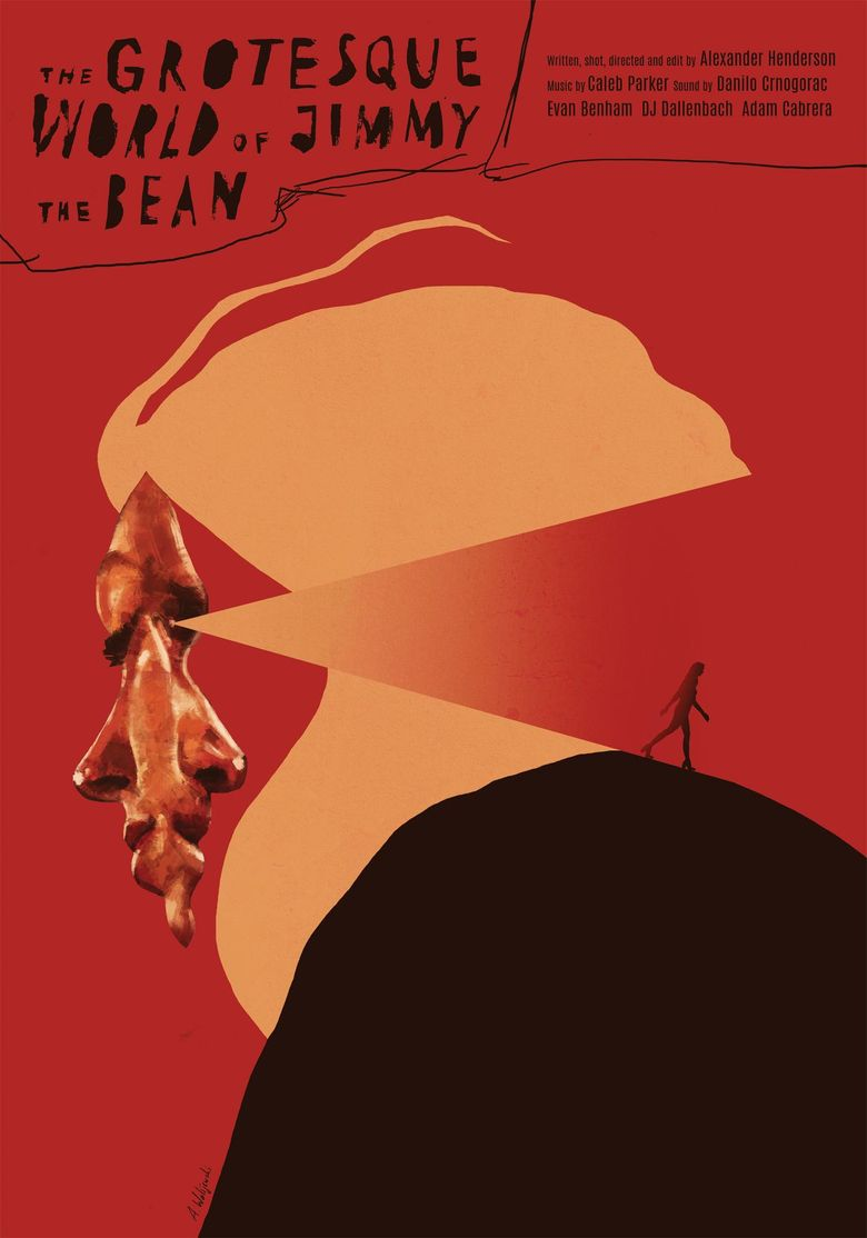 The Grotesque World of Jimmy the Bean Poster