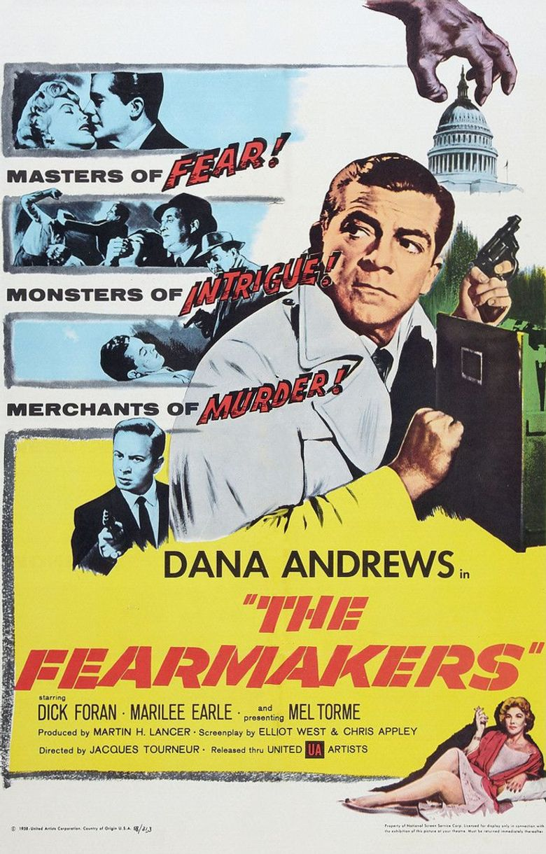 The Fearmakers Poster