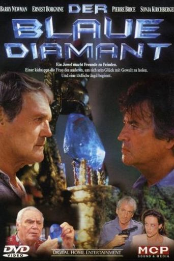 Der blaue Diamant Poster