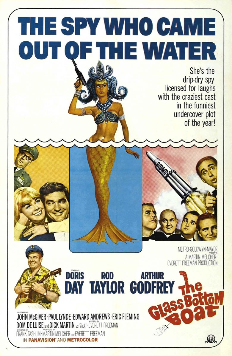 The Glass Bottom Boat Poster