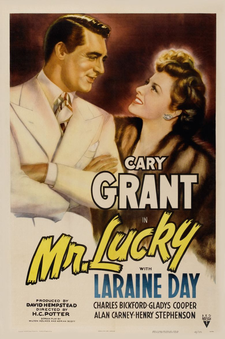 Mr. Lucky Poster