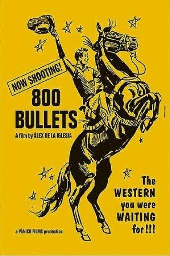 800 Bullets Poster
