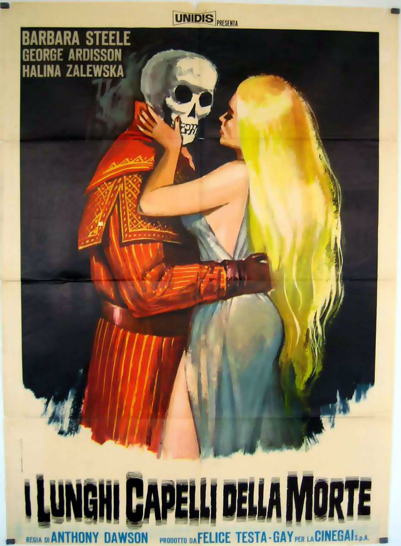 The Long Hair of Death Poster
