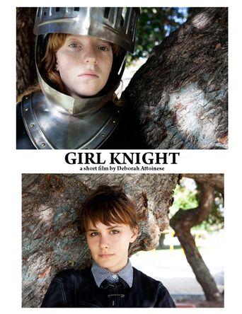 Girl Knight Poster