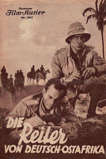 Die Reiter von Deutsch-Ostafrika Poster