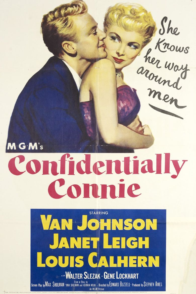 Confidentially Connie Poster