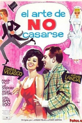 El arte de no casarse Poster