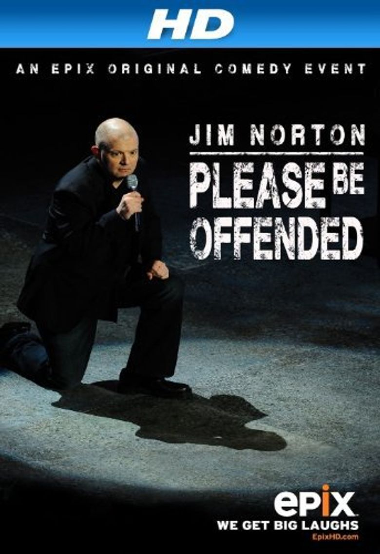 Jim Norton: Please Be Offended Poster