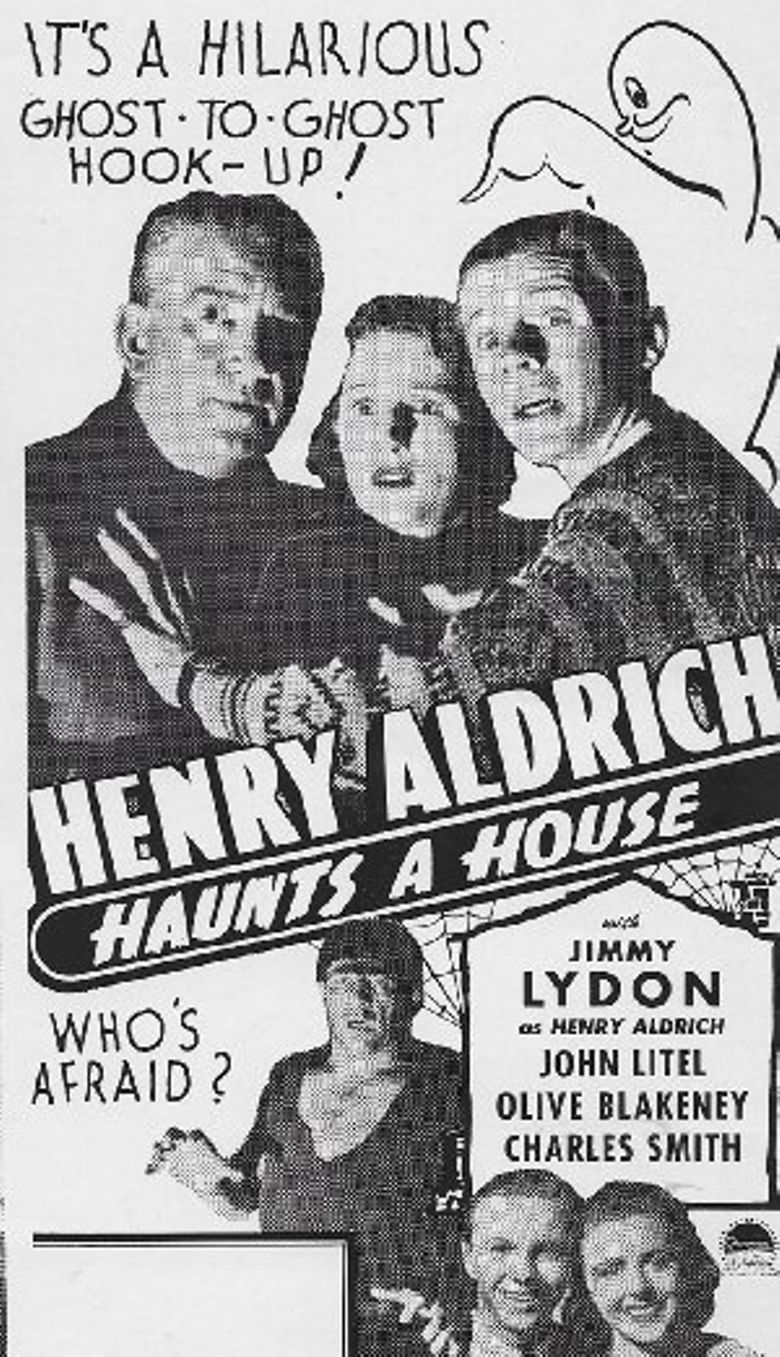 Henry Aldrich Haunts a House Poster