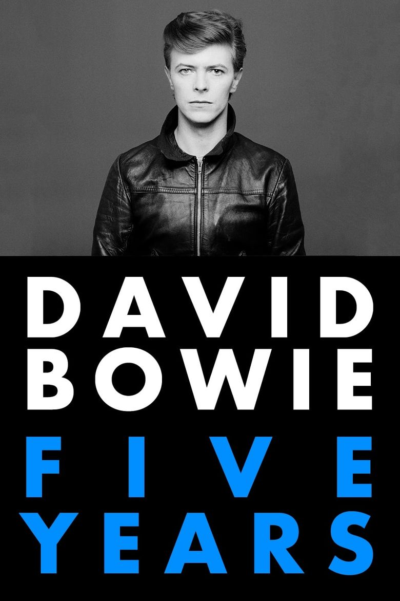 David Bowie: Five Years Poster