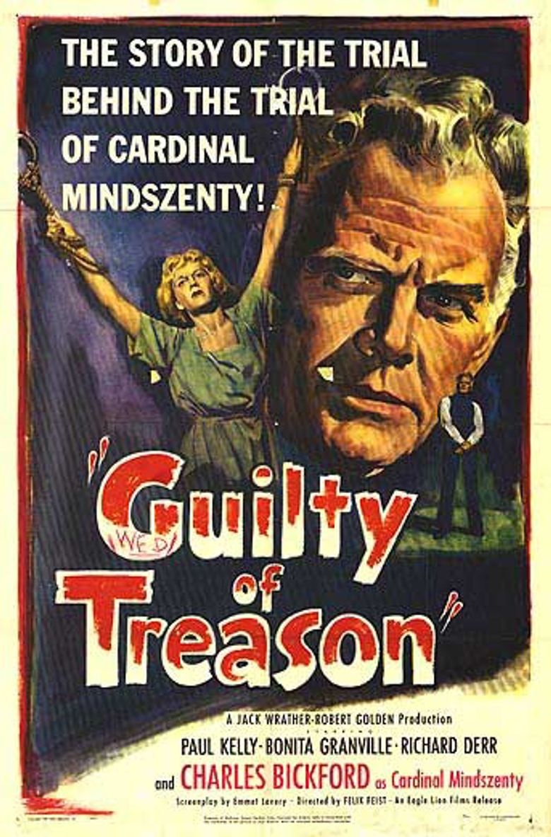 Guilty of Treason Poster