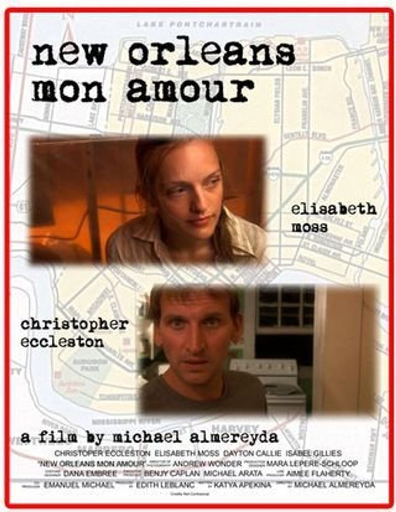 New Orleans, Mon Amour Poster
