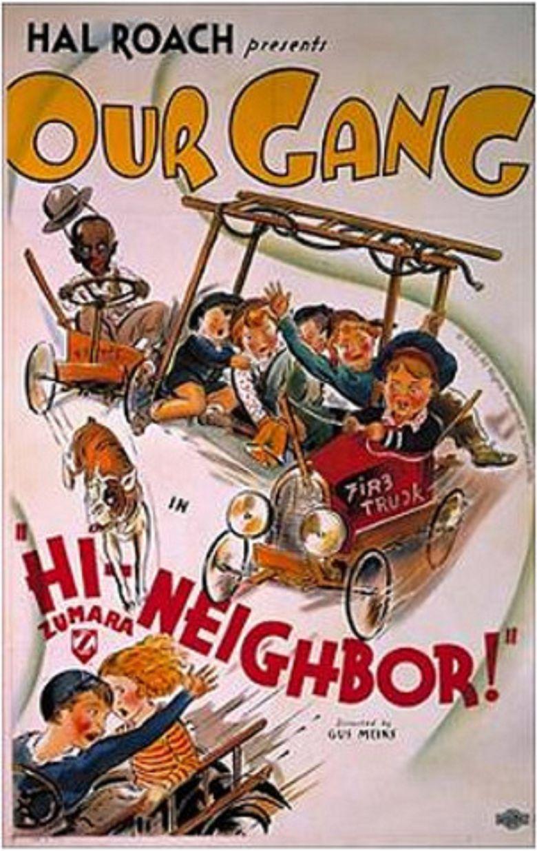 Hi'-Neighbor! Poster