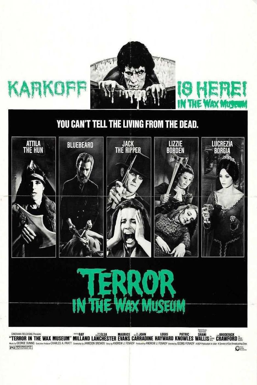 Terror in the Wax Museum Poster