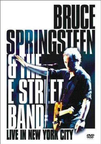 Bruce Springsteen and the E Street Band: Live in New York City Poster