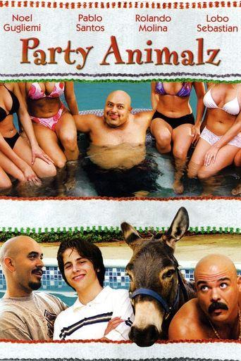 Party Animalz Poster