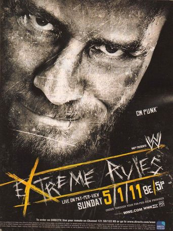 WWE Extreme Rules 2011 Poster