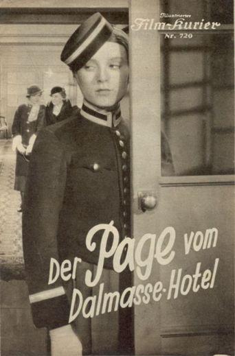 Der Page vom Dalmasse-Hotel Poster