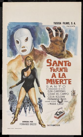 Santo Faces Death Poster