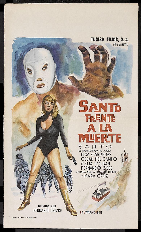 Santo Faces Death Poster