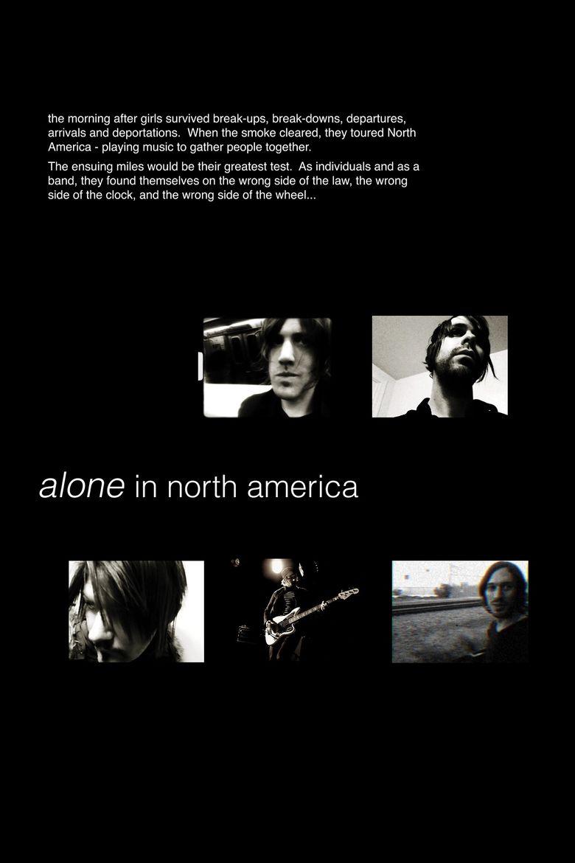 Alone in North America Poster