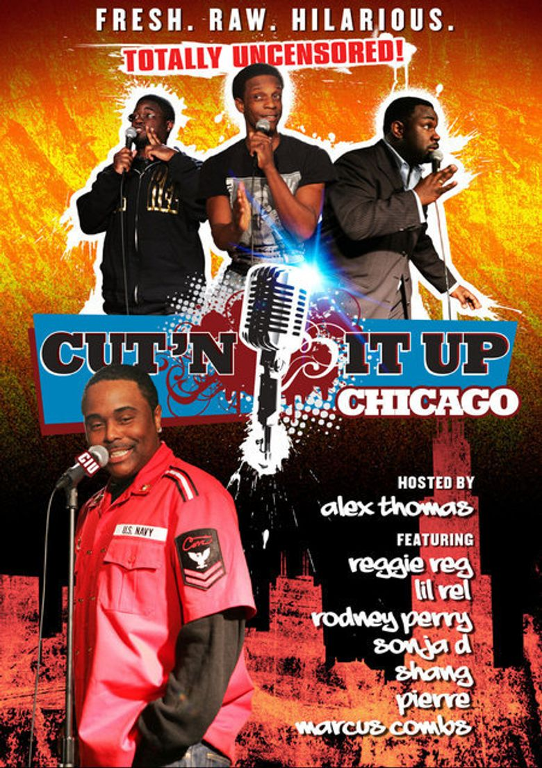 Cut'n It Up: Chicago Poster