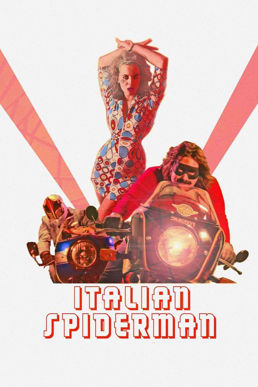 Italian Spiderman Poster