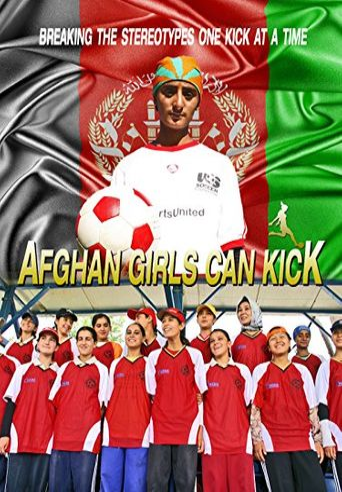 Afghan Girls Can Kick Poster