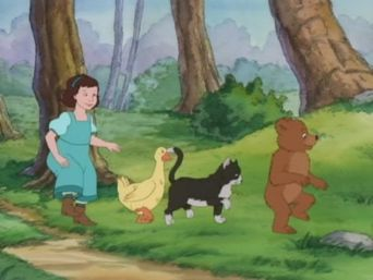 Follow the Leader/Little Scarecrow Bear/Little Bear and the Baby Poster